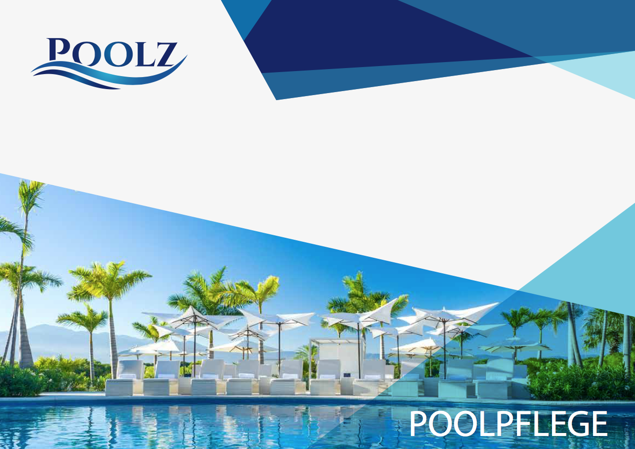 Pool-Pflegebroschüre