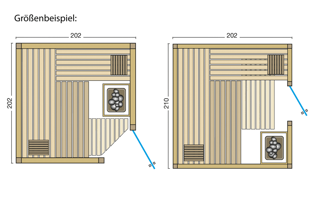 Grundriss Sauna Aurora