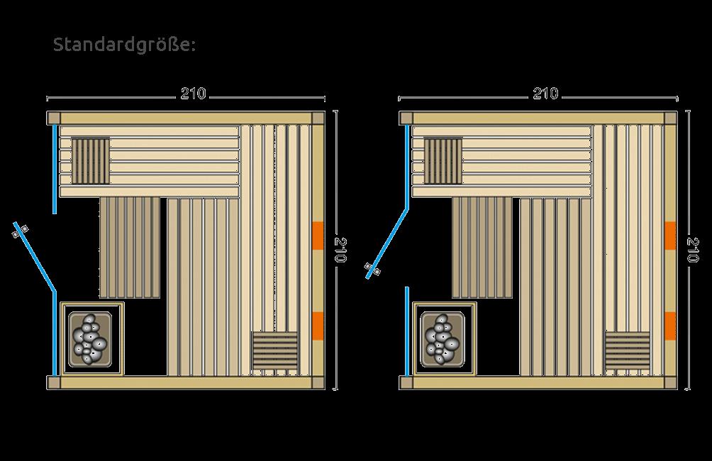 Grundriss Sauna Panorama Complete