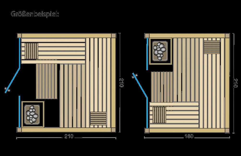 Grundriss Sauna Panorama