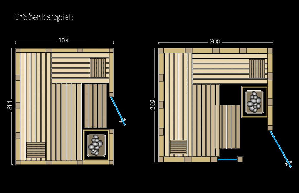 Grundriss Sauna Urban