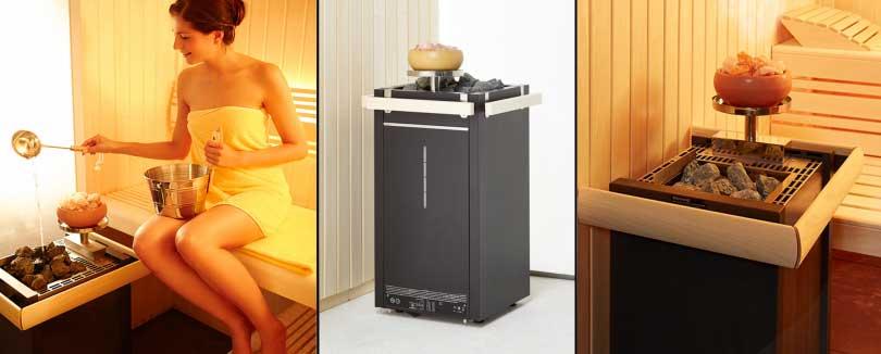 Saunaofen mit Verdampfersystem