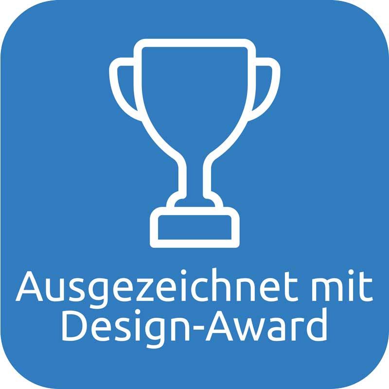 Ausgezeichnet mit Design-Awards